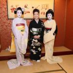 ■中村美律子が新曲「京都二寧坂」発売記念イベント。京都の芸妓&舞妓とお座敷遊び