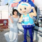 ■水森かおりが山口・下関市で開催の「下関海響マラソン」前夜祭で「しものせき海響大使」として応援PR
