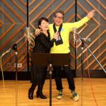 ■森昌子が、大ヒット曲「越冬つばめ」の作曲者・円広志とデュエット曲をレコーディング。キングから24日発売