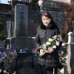 ■市川由紀乃が美空ひばりさんの墓前に紅白で「人生一路」を歌唱したことを報告。今年は新曲の大ヒット目指して意欲満々