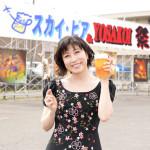 ■水森かおりが北海道・千歳市で開催の夏祭り「スカイ・ビア&YOSAKOI祭」で新曲を披露