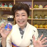 ■中村美律子が新曲「弥太郎鴉」発売イベントで夏の風物詩・風鈴づくりに挑戦