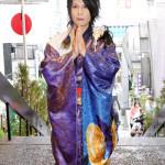 ■最上川司が東京・烏森神社で新曲「司の冷たい肉そば音頭」ヒット祈願。自らプロデュースの「冷たい肉そば」を8月下旬に発売