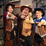■新世代歌謡グループ、はやぶさが第10弾シングル「ジョー☆デッキー!!!」発売記念イベント。PVで共演の芋洗坂係長がサプライズで参加