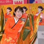 ■丘みどりが3年連続「紅白」出場祈願、渋谷で新曲「紙の鶴」歌唱イベント。購入者全員に折り鶴をプレゼント