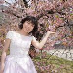 ■水森かおりが日本三大桜の名所、長野・高遠城址公園を訪れ、記念植樹。伊那市内で新曲「高遠 さくら路」歌唱イベント