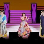 ■水森かおりが名古屋・御園座座長公演の千穐楽無事に終了。サンドウィッチマンとのデュエット曲を初披露