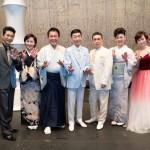 ■渥美二郎が主宰の「人仁の会」で角川博、走裕介ら7アーティストが共演。昭和39年、東京五輪の年にヒットした曲などを熱唱
