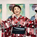 ■多岐川舞子が広島県尾道市を舞台にした新曲「風の尾道」発売記念ファンミーティング。合わせて80人のファンで大盛り上がり