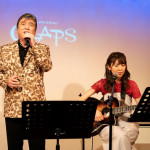 ■小金沢昇司が、新曲「青春の忘れもの」を作曲したおかゆと東京・六本木クラップスでジョイントライブ