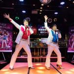 ■新世代歌謡グループ、はやぶさが新曲「超天フィーバー!」発売記念イベント。ささきいさおが応援に。「宇宙戦艦ヤマト」をコラボで披露
