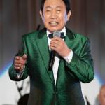■新川二朗の「芸道60周年・傘寿を祝う会」が東京・浅草ビューホテルで開催。「これからも健康に気をつけ、一日でも長く歌い続けていきたい」