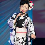 ■真木柚布子が演歌ミュージカル第6弾「藍染の高尾」を1時間にわたって熱演。新曲「春が咲く」も絶好調
