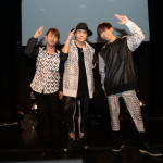 ■男性3人組、LAST FIRSTが東京・六本木でメジャーデビュー記念ライブ。純烈、リュ・シウォンらから応援メッセージも
