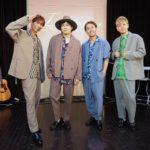 ■4人組ボーカルグループ、LAST FIRSTが新曲「Life is Beautiful」発売記念ライブ。純烈公認の「純烈の弟分」として人気